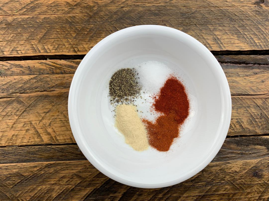 seasonings in a bowl