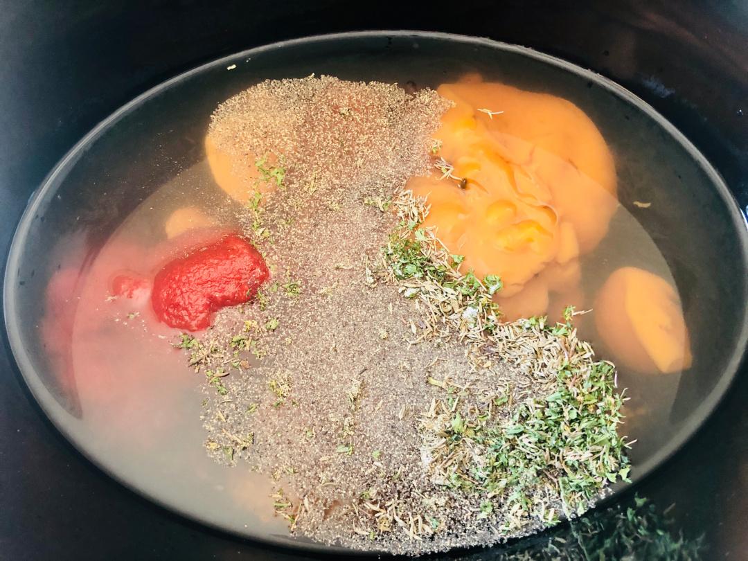 Slow Cooker Autumn Beef Stew