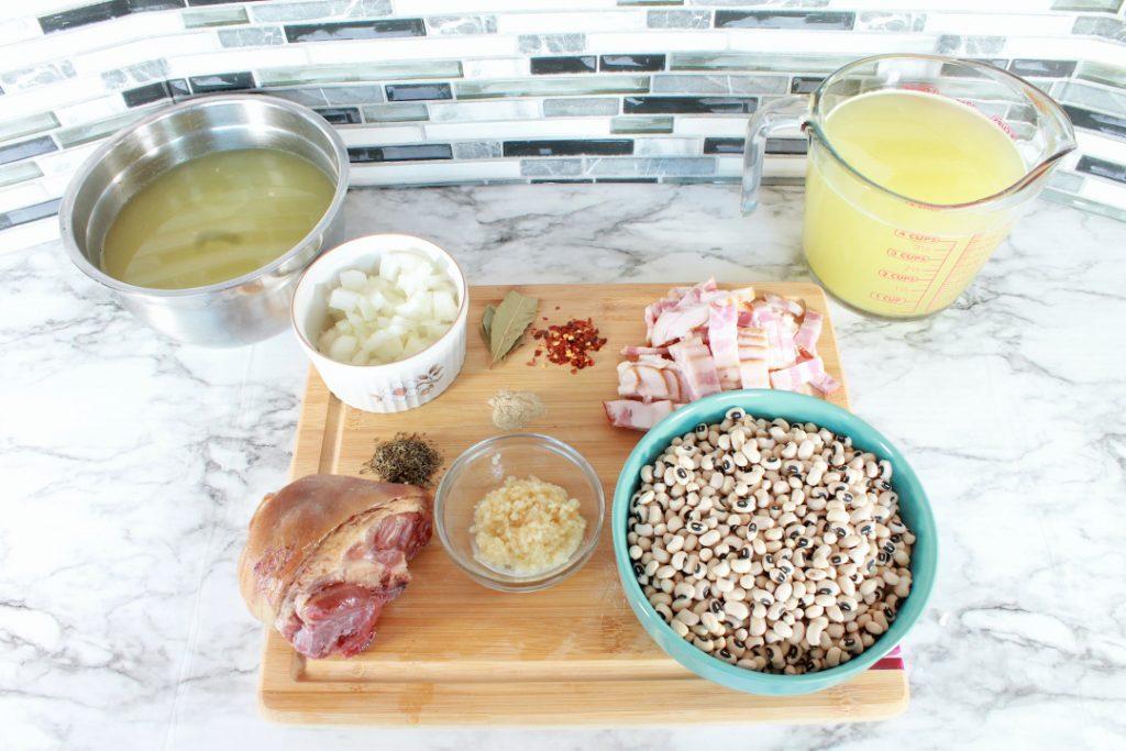 blackeyed peas ingredients