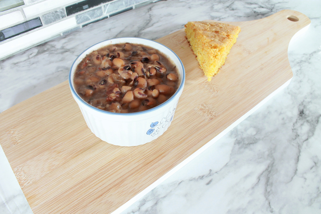 instant pot southern black eyed peas